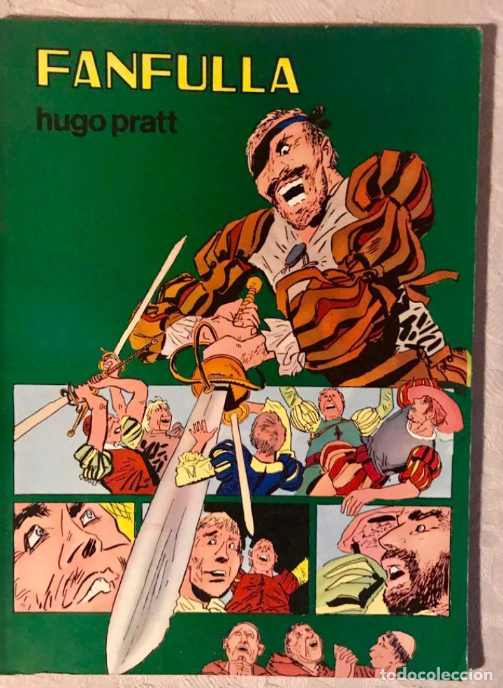 FANFULLA HUGO PRATT COLECCIÓN PILOTO NÚMERO 6 BUEN ESTADO 1983 (Tebeos y Comics - Valenciana - Otros)