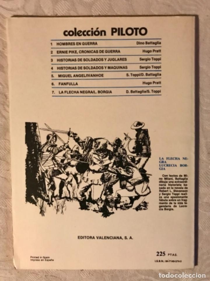 Tebeos: Fanfulla Hugo Pratt colección piloto número 6 buen estado 1983 - Foto 2 - 102963199