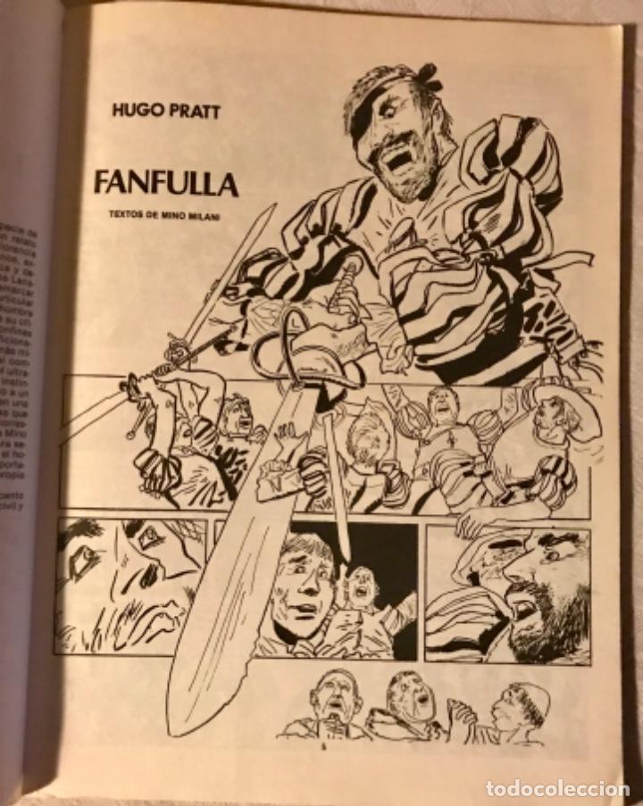 Tebeos: Fanfulla Hugo Pratt colección piloto número 6 buen estado 1983 - Foto 6 - 102963199
