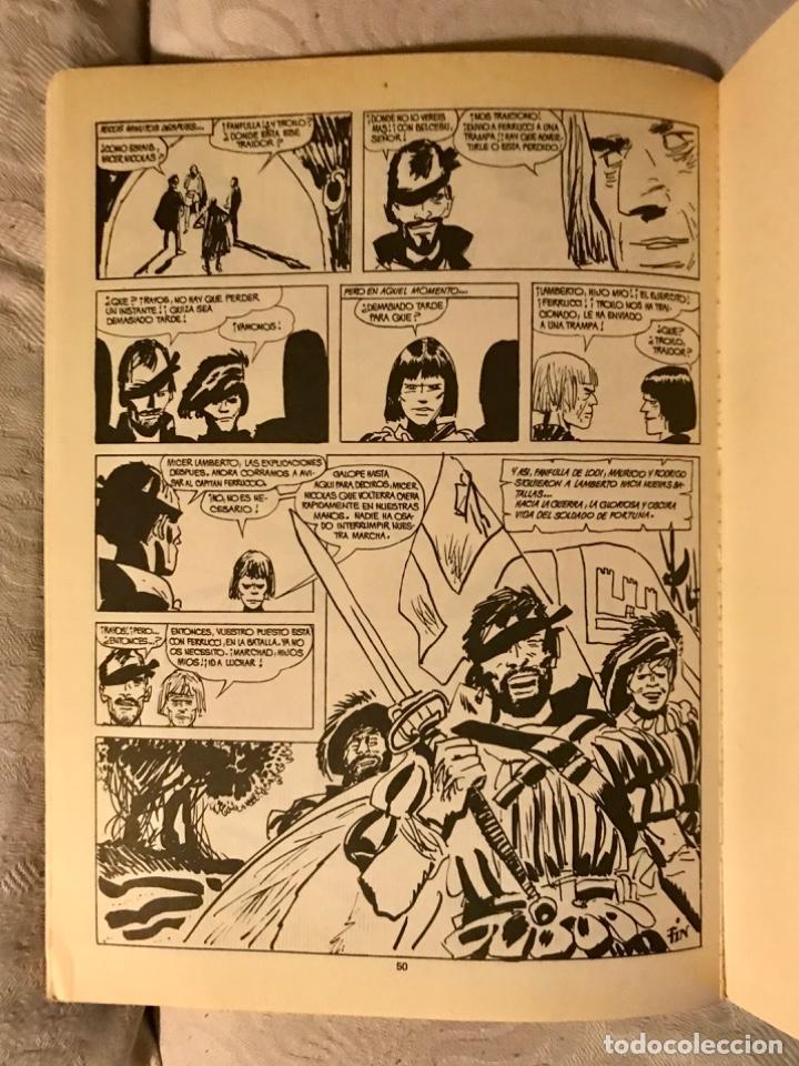Tebeos: Fanfulla Hugo Pratt colección piloto número 6 buen estado 1983 - Foto 12 - 102963199
