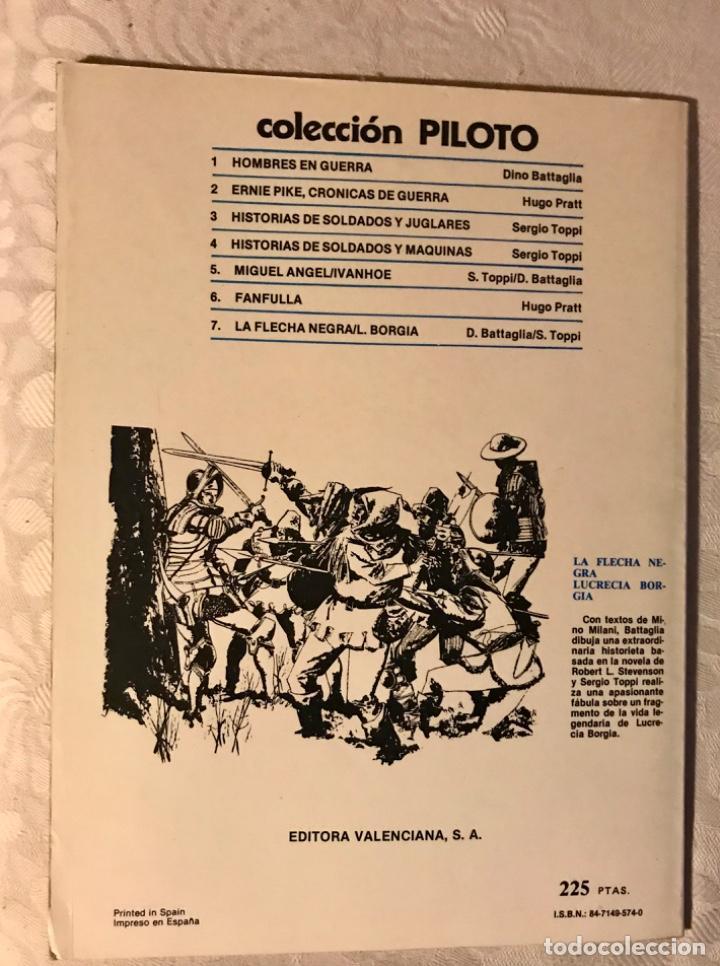 Tebeos: Fanfulla Hugo Pratt colección piloto número 6 buen estado 1983 - Foto 13 - 102963199