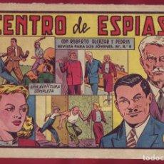 Giornalini: ROBERTO ALCAZAR Y PEDRIN NÚMERO 371 CENTRO DE ESPIAS. Lote 103392995
