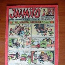 BDs: JAIMITO, Nº 572 - EDITORIAL VALENCIANA 1945 - CONTIENE UNA AVENTURA DE ROBERTO ALCAZAR Y PEDRIN. Lote 103415671