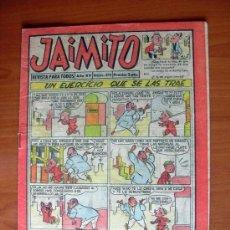 BDs: JAIMITO, Nº 574 - EDITORIAL VALENCIANA 1945 - CONTIENE UNA AVENTURA DE ROBERTO ALCAZAR Y PEDRIN. Lote 103416019