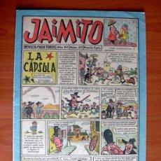 BDs: JAIMITO, Nº 577 - EDITORIAL VALENCIANA 1945 - CONTIENE UNA AVENTURA DE ROBERTO ALCAZAR Y PEDRIN. Lote 103416275