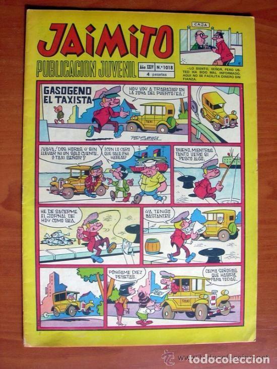 JAIMITO, Nº 1018 - EDITORIAL VALENCIANA - CONTIENE DIBUJOS DE AMBRÓS (Tebeos y Comics - Valenciana - Jaimito)