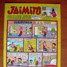 Tebeos: JAIMITO, Nº 955 - EDITORIAL VALENCIANA - CONTIENE DIBUJOS DE AMBRÓS. Lote 103465827