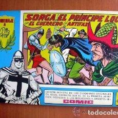 Tebeos: EL GUERRERO DEL ANTIFAZ, Nº 41 - TOMOS AZULES - EDITORIAL VALENCIANA 1981. Lote 103467151