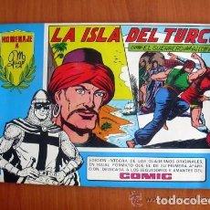 Tebeos: EL GUERRERO DEL ANTIFAZ, Nº 21 - TOMOS AZULES - EDITORIAL VALENCIANA 1981. Lote 103468823