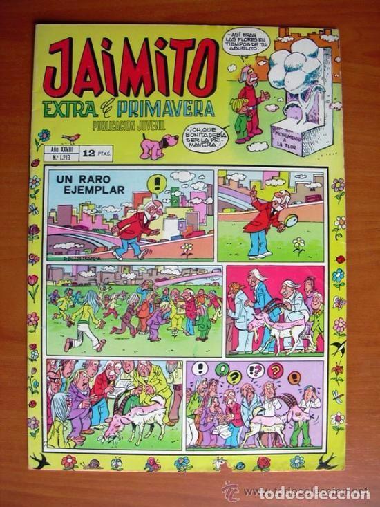 JAIMITO, Nº 1219 - EDITORIAL VALENCIANA - EXTRA DE PRIMAVERA 1973 (Tebeos y Comics - Valenciana - Jaimito)