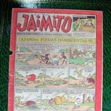 Tebeos: JAIMITO, Nº 422 - EDITORIAL VALENCIANA 1945. Lote 103495995
