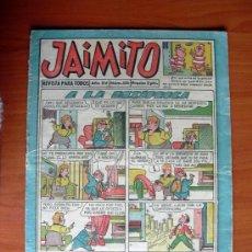 Tebeos: JAIMITO, Nº 536 - EDITORIAL VALENCIANA 1945. Lote 103497391
