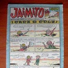 Tebeos: JAIMITO, Nº 548 - EDITORIAL VALENCIANA 1945. Lote 103497767