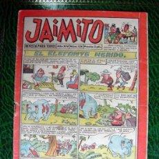 Tebeos: JAIMITO, Nº 528 - EDITORIAL VALENCIANA 1945. Lote 103498263