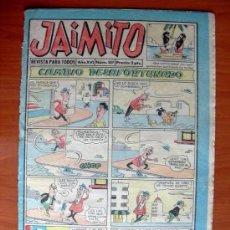 Tebeos: JAIMITO, Nº 587 - EDITORIAL VALENCIANA 1945. Lote 103499199