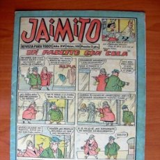 Tebeos: JAIMITO, Nº 588 - EDITORIAL VALENCIANA 1945. Lote 103499739