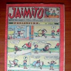 Tebeos: JAIMITO, Nº 589 - EDITORIAL VALENCIANA 1945. Lote 103501391