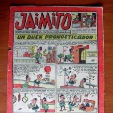 Tebeos: JAIMITO, Nº 542 - EDITORIAL VALENCIANA 1945. Lote 103507951
