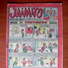 Tebeos: JAIMITO, Nº 604 - EDITORIAL VALENCIANA 1945. Lote 103508611