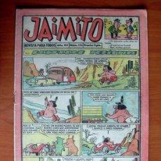 Tebeos: JAIMITO, Nº 556 - EDITORIAL VALENCIANA 1945. Lote 103512095