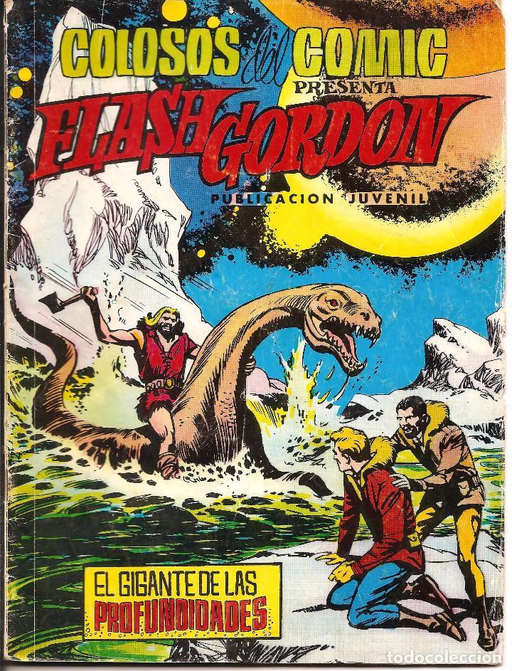COMIC COLOSOS DEL COMIC - Nº 175 FLASH GORDON, EL GIGANTE DE LAS PROFUNDIDADES, 1980 (Tebeos y Comics - Valenciana - Colosos del Comic)