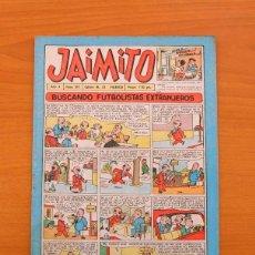 Tebeos: JAIMITO Nº 311 - EDITORIAL VALENCIANA 1945. Lote 103608127