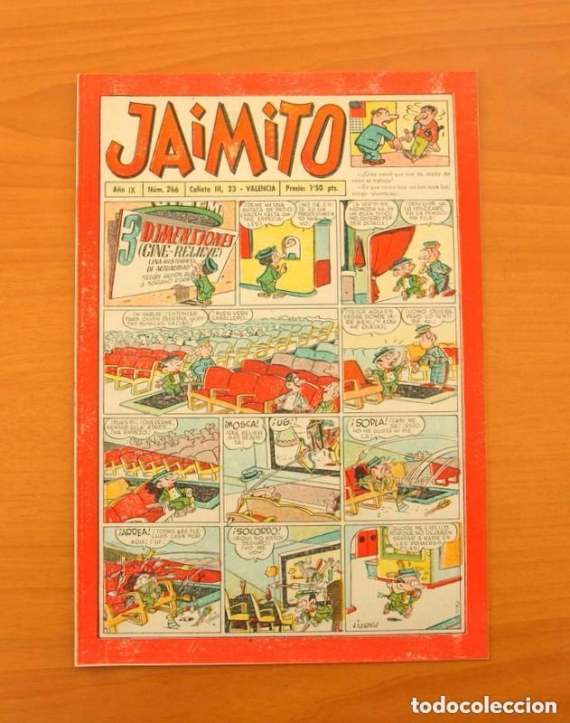 JAIMITO Nº 266 - EDITORIAL VALENCIANA 1945 (Tebeos y Comics - Valenciana - Jaimito)