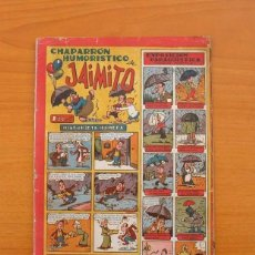 Tebeos: JAIMITO - Nº 62 - CHAPARRÓN HUMORÍSTICO - EDITORIAL VALENCIANA 1945. Lote 103612915