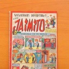 Tebeos: JAIMITO - Nº 69 - VACACIONES DIVERTIDAS - EDITORIAL VALENCIANA 1945. Lote 103656559