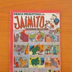 Tebeos: JAIMITO - Nº 63 - GRACIA PRIMAVERAL - EDITORIAL VALENCIANA 1945. Lote 103657583