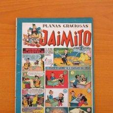 Tebeos: JAIMITO - Nº 77 - PLANAS GRACIOSAS - EDITORIAL VALENCIANA 1945. Lote 103662791