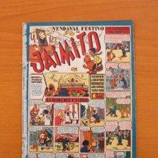 Tebeos: JAIMITO - Nº 60 - VENDAVAL FESTIVO - EDITORIAL VALENCIANA 1945. Lote 103662867