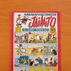 Tebeos: JAIMITO - Nº 46 - GARABATOS CÓMICOS - EDITORIAL VALENCIANA 1945. Lote 103664131