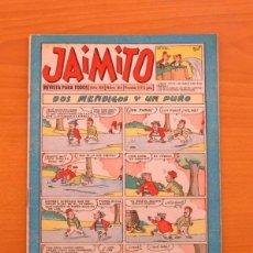 Tebeos: JAIMITO - Nº 411 - EDITORIAL VALENCIANA 1945. Lote 103693215