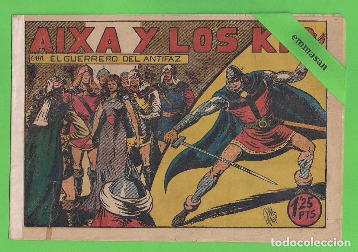 EL GUERRERO DEL ANTIFAZ - Nº 88 - AIXA Y LOS KIR - VALENCIANA. (1948). (Tebeos y Comics - Valenciana - Guerrero del Antifaz)