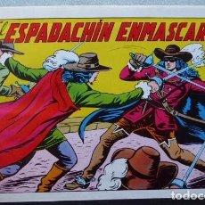 Tebeos: EL ESPADACHIN ENMASCARADO (VALENCIANA) COMPLETA. 252 NÚMEROS REEDITADOS EN 6 TOMOS DE LUJO (GAGO). Lote 103919655