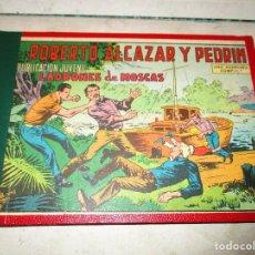 Tebeos: TOMO ROBERTO ALCAZAR Y PEDRIN ENCUADERNACION DE LA EDITORIAL 25 EJEMPLARES ED.VALENCIANA. Lote 104055895