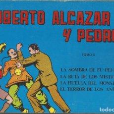Tebeos: ROBERTO ALCÁZAR Y PEDRÍN EDITORIAL VALENCIANA TOMO Nº 5 . Lote 104115927