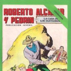 Tebeos: ROBERTO ALCÁZAR Y PEDRÍN - Nº 76 - 2ª ÉPOCA - ''LA CASA DE LOS FANTASMAS'' - 03-IX-1977.. Lote 104176787