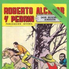 Tebeos: ROBERTO ALCÁZAR Y PEDRÍN - Nº 79 - 2ª ÉPOCA - ''DOS BUENOS AMIGOS'' - 10-IX-1977.. Lote 104177503