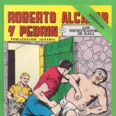 Tebeos: ROBERTO ALCÁZAR Y PEDRÍN - Nº 80 - 2ª ÉPOCA - ''LOS SACRIFICADORES DE KALI'' - 01-X-1977.. Lote 104177655