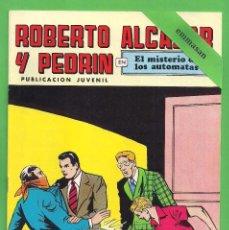 Tebeos: ROBERTO ALCÁZAR Y PEDRÍN - Nº 87 - 2ª ÉPOCA - ''EL MISTERIO DE LOS AUTOMATAS'' - 19-XI-1977.. Lote 104178927