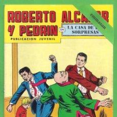 Tebeos: ROBERTO ALCÁZAR Y PEDRÍN - Nº 145 - 2ª ÉPOCA - ''LA CASA DE LAS SORPRESAS'' - 30-XII-1978.. Lote 104299935