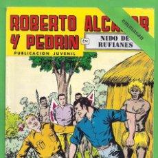 Tebeos: ROBERTO ALCÁZAR Y PEDRÍN - Nº 149 - 2ª ÉPOCA - ''NIDO DE RUFIANES'' - 27-I-1979.. Lote 104300943