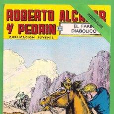 Tebeos: ROBERTO ALCÁZAR Y PEDRÍN - Nº 151 - 2ª ÉPOCA - ''EL FAKIR DIABÓLICO'' - 10-II-1979.. Lote 104301579