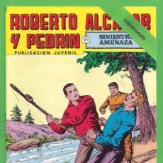 Tebeos: ROBERTO ALCÁZAR Y PEDRÍN - Nº 152 - 2ª ÉPOCA - ''SINIESTRA AMENAZA'' - 17-II-1979.. Lote 104301947