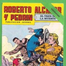 Tebeos: ROBERTO ALCÁZAR Y PEDRÍN - Nº 153 - 2ª ÉPOCA - ''EL TREN DE LA MUERTE'' - 24-II-1979.. Lote 104302311