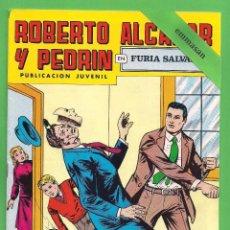 Tebeos: ROBERTO ALCÁZAR Y PEDRÍN - Nº 154 - 2ª ÉPOCA - ''FURIA SALVAJE'' - 03-III-1979.. Lote 104302755