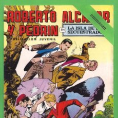 Tebeos: ROBERTO ALCÁZAR Y PEDRÍN - Nº 157 - 2ª ÉPOCA - ''LA ISLA DE LOS SECUESTRADOS'' - 24-III-1979.. Lote 104303955