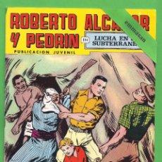 Tebeos: ROBERTO ALCÁZAR Y PEDRÍN - Nº 158 - 2ª ÉPOCA - ''LUCHA EN EL SUBTERRANEO'' - 31-III-1979.. Lote 104304267